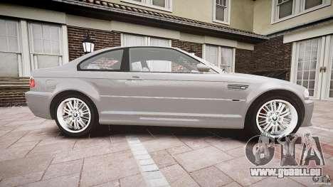 BMW M3 e46 v1.1 pour GTA 4 est une vue de l'intérieur