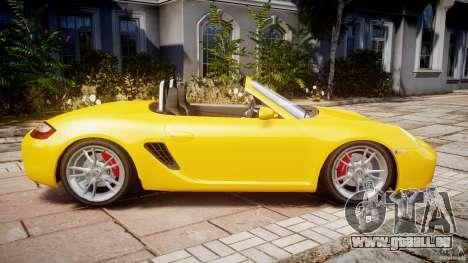 Porsche Boxster S pour GTA 4 est une gauche