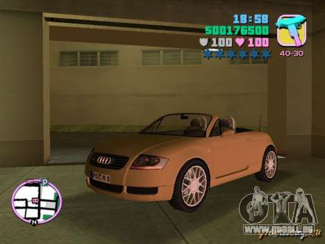 Audi TT ROADSTER für GTA Vice City