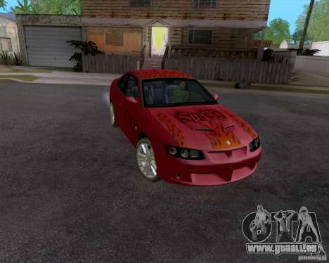 Vauxhall Monaco VX-R pour GTA San Andreas