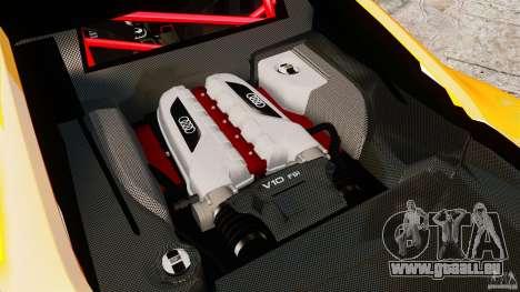 Audi R8 GT Coupe 2011 pour GTA 4 Vue arrière
