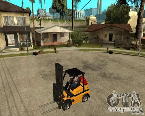 Forklift GTAIV pour GTA San Andreas