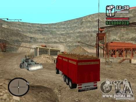Ford Cargo 3227 pour GTA San Andreas laissé vue