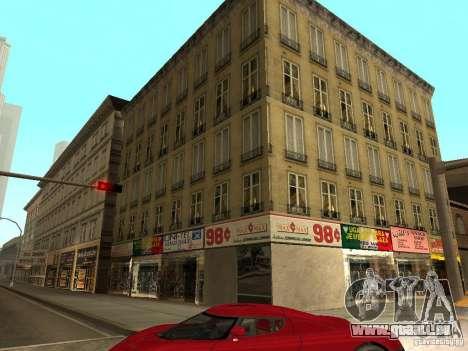 Neue Texturen Downtown Los Santos für GTA San Andreas zweiten Screenshot
