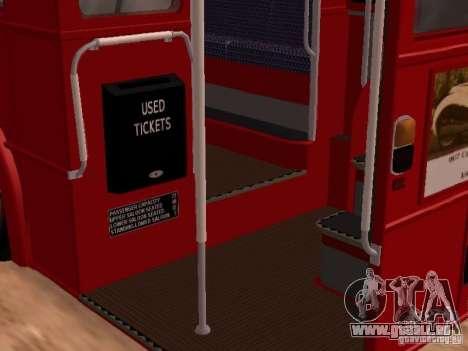 AEC RouteMaster RML für GTA San Andreas Seitenansicht