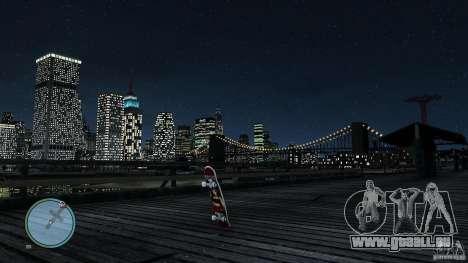 Skateboard # 2 für GTA 4 rechte Ansicht