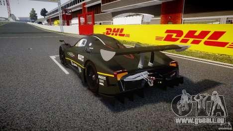 Pagani Zonda R 2009 pour GTA 4 Vue arrière de la gauche