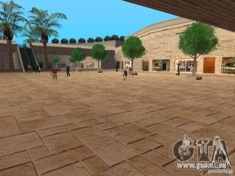 Nouveau centre commercial de textures pour GTA San Andreas deuxième écran