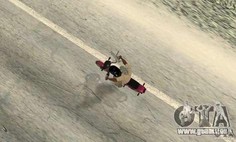 ZID Owl 175 v 2.0 pour GTA San Andreas vue arrière