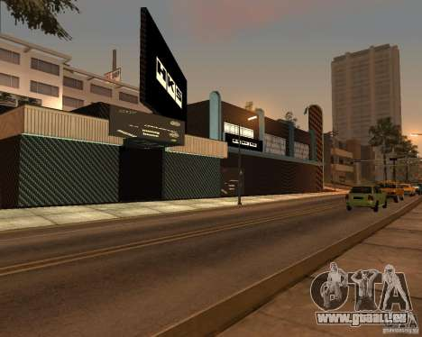 New HKS Style Tuning Garage pour GTA San Andreas troisième écran