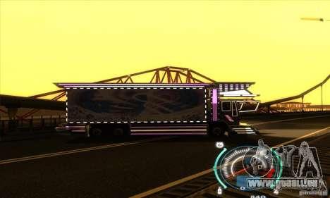 Camion japonaise pour GTA San Andreas vue de droite
