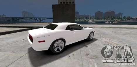 Dodge Challenger 2006 pour GTA 4 est un droit