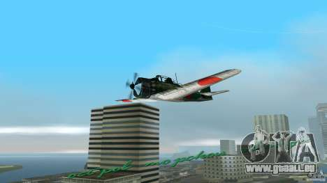Zero Fighter Plane für GTA Vice City