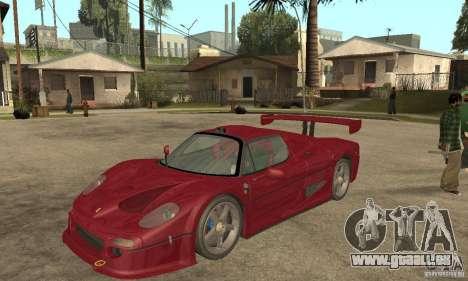 Ferrari F50 GT (v1.0.0) pour GTA San Andreas