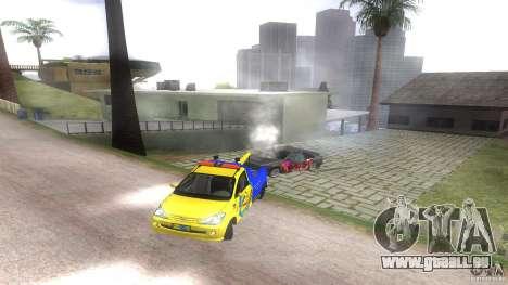 Toyota Avanza Towtruck pour GTA San Andreas vue arrière