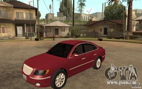 Hyundai Azera 2009 pour GTA San Andreas