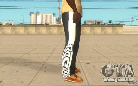 Reebok Sporthose für GTA San Andreas her Screenshot