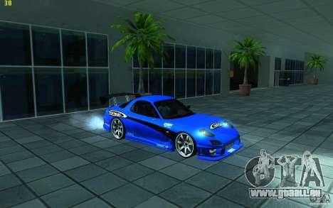 Mazda Rx7 C-West pour GTA San Andreas laissé vue