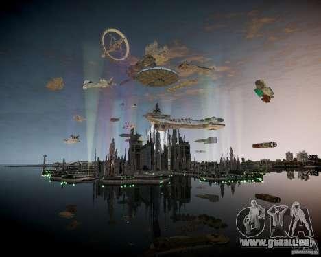 Stargate Atlantis für GTA 4 Sekunden Bildschirm