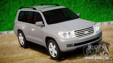 Toyota Land Cruiser 200 2007 für GTA 4 linke Ansicht