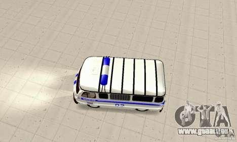 UAZ Police pour GTA San Andreas vue de droite