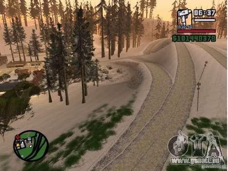 Winter Mod für GTA San Andreas