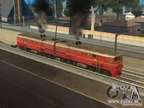 2te10v-4833 pour GTA San Andreas vue arrière