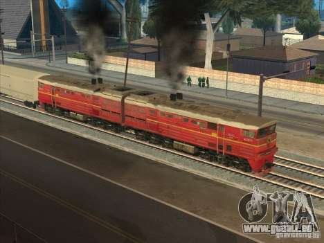 2te10v-4833 für GTA San Andreas Rückansicht