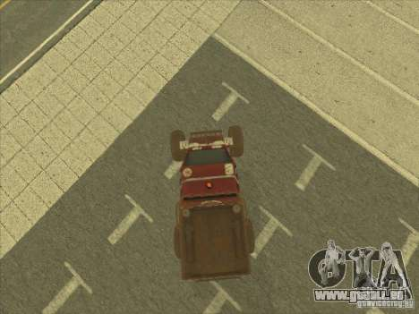 Jeep from Red Faction Guerrilla pour GTA San Andreas vue de droite