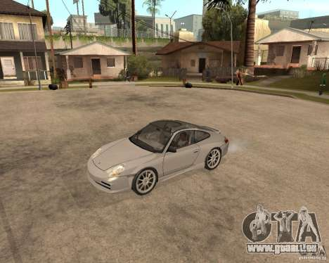Porsche 911 TARGA für GTA San Andreas zurück linke Ansicht