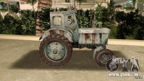 Tracteur t-40 pour une vue GTA Vice City de la gauche