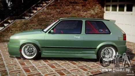 Volkswagen Golf II W8 pour GTA 4 est une gauche