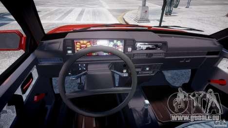 Vaz-21093i pour GTA 4 Vue arrière