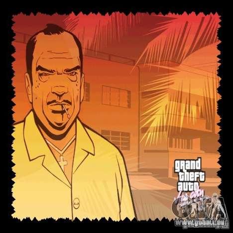 Le nouvel écran de démarrage HD GTA Vice City pour la deuxième capture d'écran