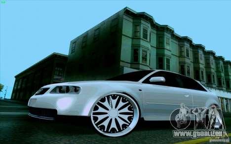 Audi A3 DUB Edition pour GTA San Andreas vue de droite