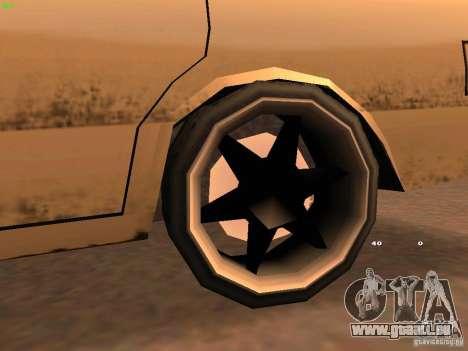 New Perennial pour GTA San Andreas vue arrière