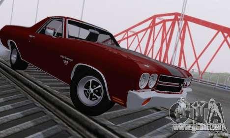 ENBSeries by dyu6 v6.0 pour GTA San Andreas troisième écran