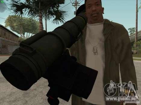 Javelin pour GTA San Andreas quatrième écran