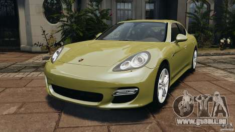 Porsche Panamera Turbo 2010 pour GTA 4