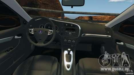 Saab 9-3 Turbo X 2008 pour GTA 4 Vue arrière