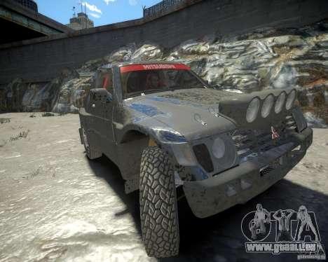 Mitsubishi Pajero Proto Dakar EK86 für GTA 4 linke Ansicht