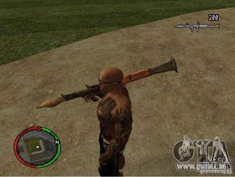 GTA IV HUD v1 by shama123 für GTA San Andreas zweiten Screenshot