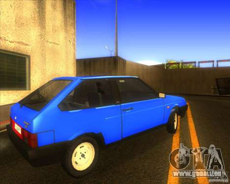 VAZ 2108 pour GTA San Andreas vue de droite
