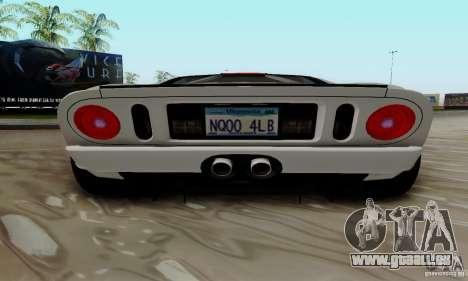 Ford GT 2005 für GTA San Andreas Seitenansicht