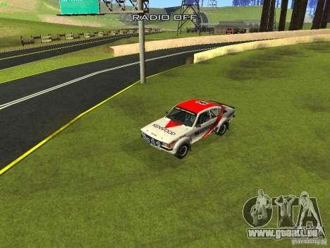 Opel Kadett pour GTA San Andreas roue