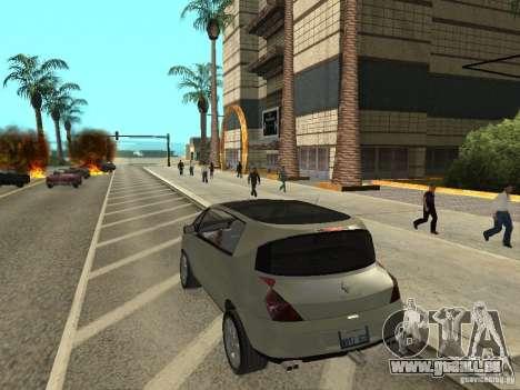 Renault Avantime pour GTA San Andreas laissé vue