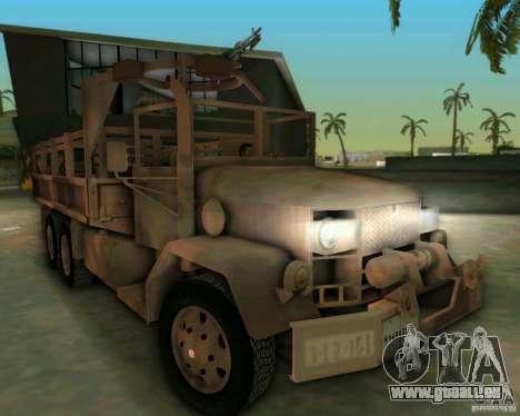 M352A pour une vue GTA Vice City de la gauche