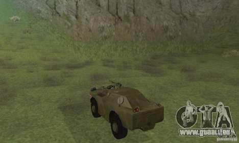 BRDM-1 peau 4 pour GTA San Andreas vue de droite