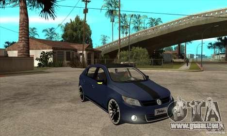 Volkswagen Gol Vintage pour GTA San Andreas vue arrière
