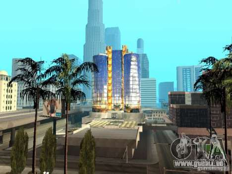Neue Textur des Wolkenkratzers für GTA San Andreas